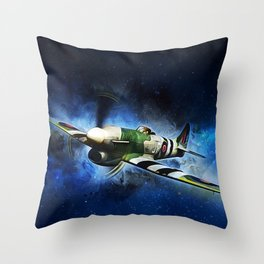 Hawker Typhoon Throw Pillow