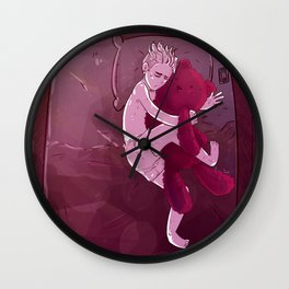 breaking up Wall Clock