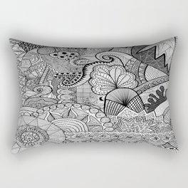 Doodle 3 Rectangular Pillow