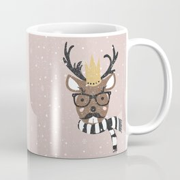 Holiday Deer Illustration Coffee Mug