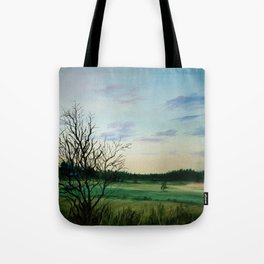Summer evening Tote Bag