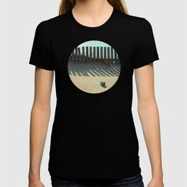 Rubik shading in the beach T-shirt