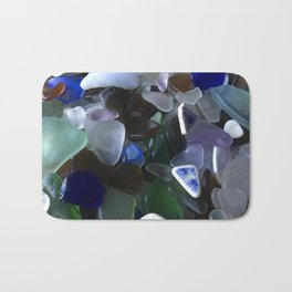 Sea Glass Assortment 4 Bath Mat
