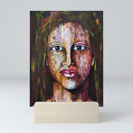 SADNESS Mini Art Print