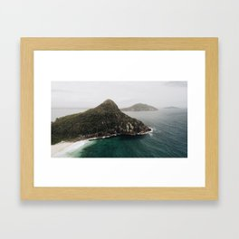Mount Tomaree Framed Art Print