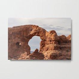 Turret Arch 0266 - Arches National Park, Utah Metal Print