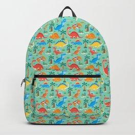 Dinos Green Backpack