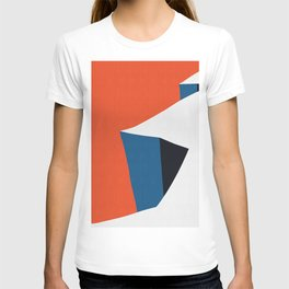 Blue and red composition XV T-shirt