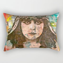 One Who Was Sent Rectangular Pillow