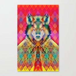 Corporate Wolf Canvas Print