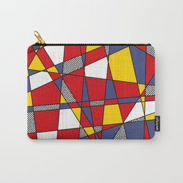 Red, Yellow & Blue Abstract Carry-All Pouch