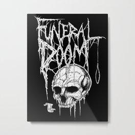 Funeral Doom Metal Metal Print