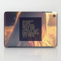 pocketfuel iPad Cases featuring BELIEVE by Pocket Fuel