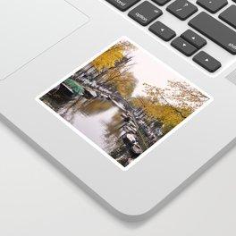 Autumn on Amsterdam's canals Sticker