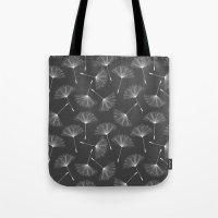 dandelion Tote Bags featuring Dandelion by Rceeh
