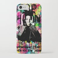 basquiat iPhone & iPod Cases featuring Basquiat  by Zoé Rikardo