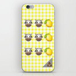 Milk Milk Lemonade Emoji iPhone Skin