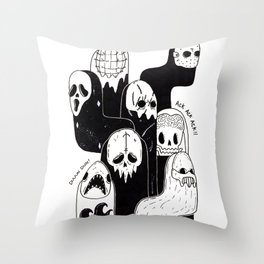 666 Throw Pillow