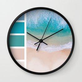 Sea Shades Wall Clock