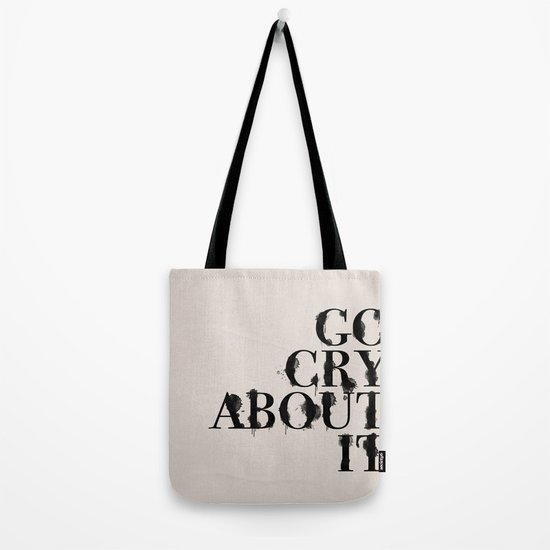 Cry Tote Bag