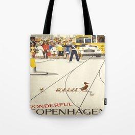 Vintage poster - Copenhagen Tote Bag