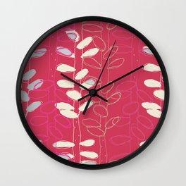 Organic shapes Wall Clock