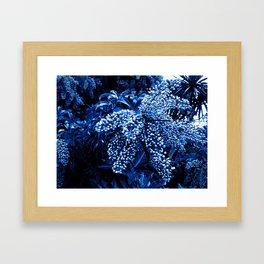 Botanica blue Framed Art Print