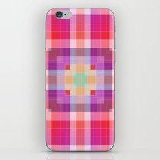 Bright Pink Geometric iPhone & iPod Skin