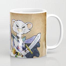 """Furhammer """"P'Orc and Dark Ferret"""" Coffee Mug"""