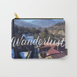 Wanderlust // #TravelSeries Carry-All Pouch