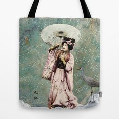 Japanese snow queen Tote Bag