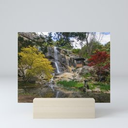 Waterfall at Maymont Park Mini Art Print