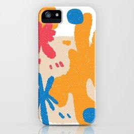 Farbklecks iPhone Case