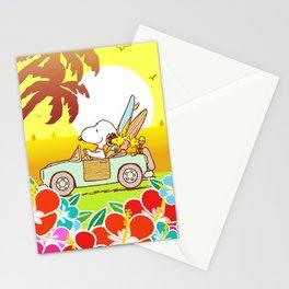Snoopy Sunrise Stationery Cards