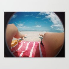 summertime and the livin's easy Canvas Print