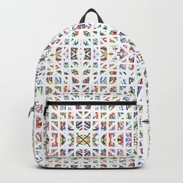 Interrupted Rainbow - a subtle rainbow of colors Backpack
