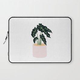 Elephent Ear Plant Laptop Sleeve
