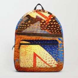 Basketball Hoop On Basketball Art Backpack