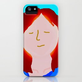 Red Head iPhone Case