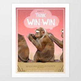 Habit 4 - Think Win-Win Art Print