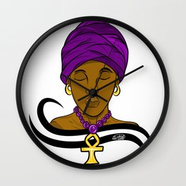 Black Queen  Wall Clock