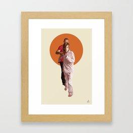 Hold on me Framed Art Print