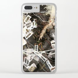 Correspondence Clear iPhone Case