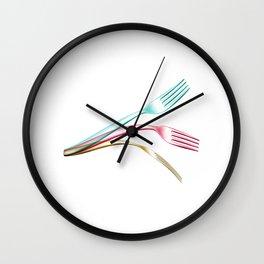 psychokinesis Wall Clock