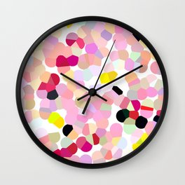 Crystalized 02 Wall Clock