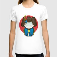 geisha T-shirts featuring Geisha by Sara Penco