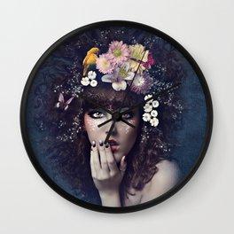 Blue Dreamer Wall Clock
