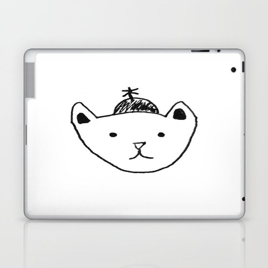 Being Fancy in a Hat Laptop & iPad Skin