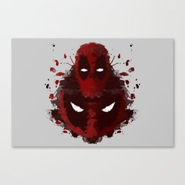 Dead Ink Blot Canvas Print
