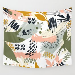 Abstract strokes still life Wall Tapestry